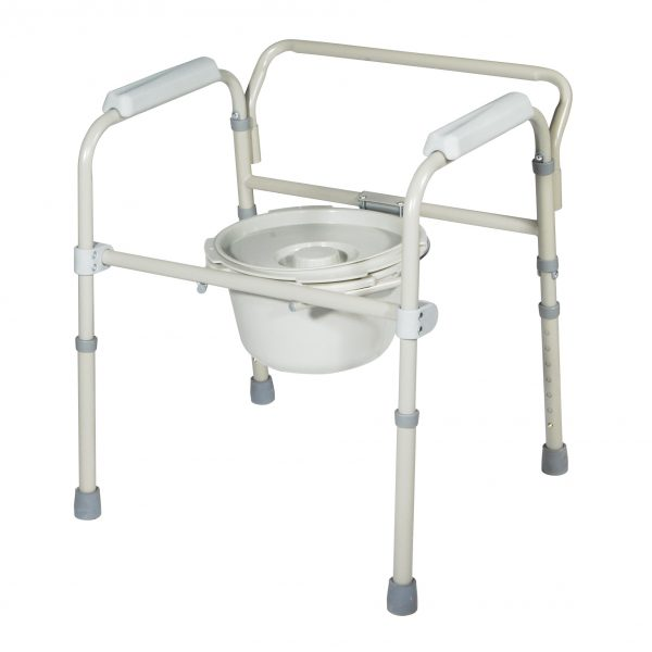 Folding Steel Commode-3416
