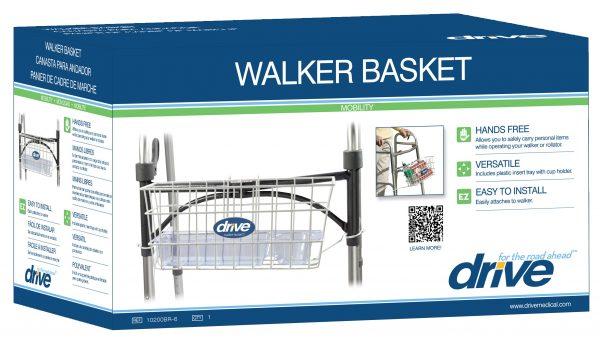 Walker Basket with Tray Insert-1548