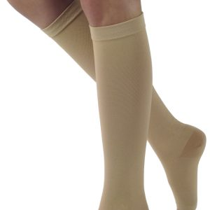 SIGVARIS Natural Rubber 50-60mmHg Knee High Open Toe-0