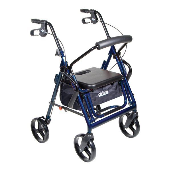 Duet Combo Rollator/ Transport Chair-658