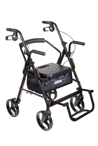 Duet Combo Rollator/ Transport Chair-657