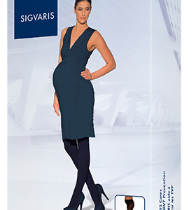 SIGVARIS Soft Opaque 20-30mmHg Maternity Pantyhose-0