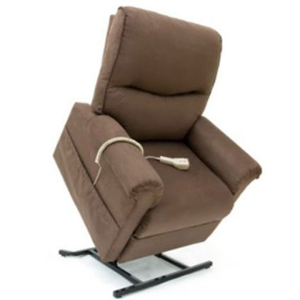 LC-105 Brown Suede Lift Chair