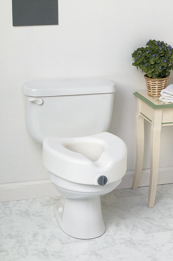 Locking Raised Toilet Seat-0