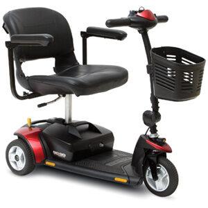Go-Go Elite Traveler 3 Wheel Scooter