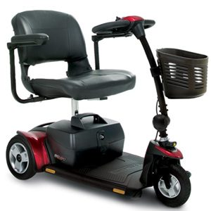 Go-Go Elite Traveler Plus 3 Wheel Scooter
