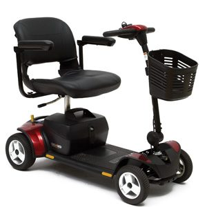 Go-Go Elite Traveler Plus 4 Wheel Scooter