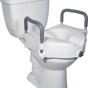 Raised Toilet Seat (Removable Arm)