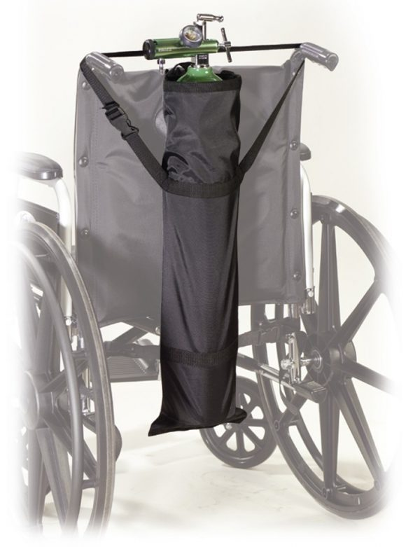 Wheelchair Oxygen Carry Pouch-0