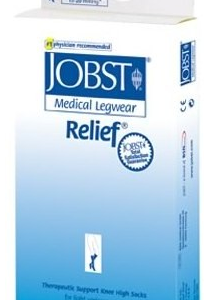 Jobst Relief 15-20 mmHg Open Toe Thigh High w/ Silicone Border-0
