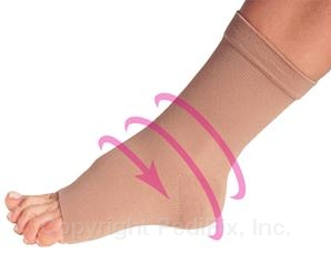 Pedi-Smart Compression Anklet Relieves Pain, Swelling-0