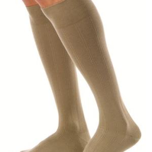 Jobst for Men Casual 30-40 mmHg Closed Toe Knee High-0