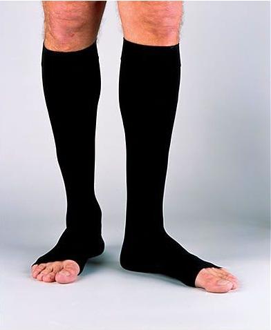 Jobst for Men Open Toe Knee High Compression Socks