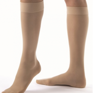 Jobst Ultrasheer 15-20 mmHg Closed Toe Knee High-0