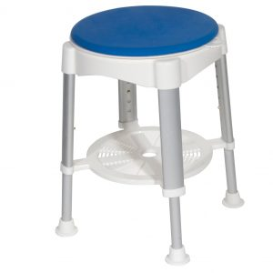 Shower Stool and Padded Rotating Seat