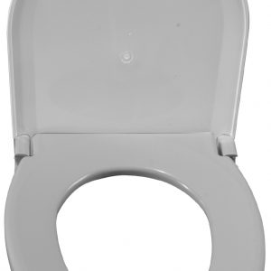 Oblong Oversized Toilet Seat w/ Lid-0