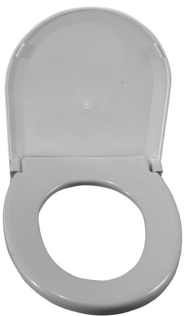 Oblong Oversized Toilet Seat w/ Lid-0