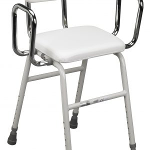 All-Purpose Stool with Adjustable Arms-0