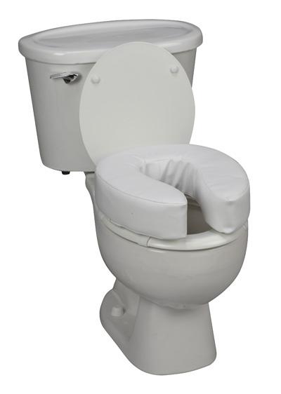 "4"" Vinyl Cushion Toilet Seat-565"