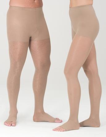 Medi Plus 20-30 mmHg Open Toe Pantyhose (Petite)-0