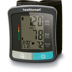 HealthSmart® Standard Series Universal Wrist Digital Blood Pressure Monitor-0