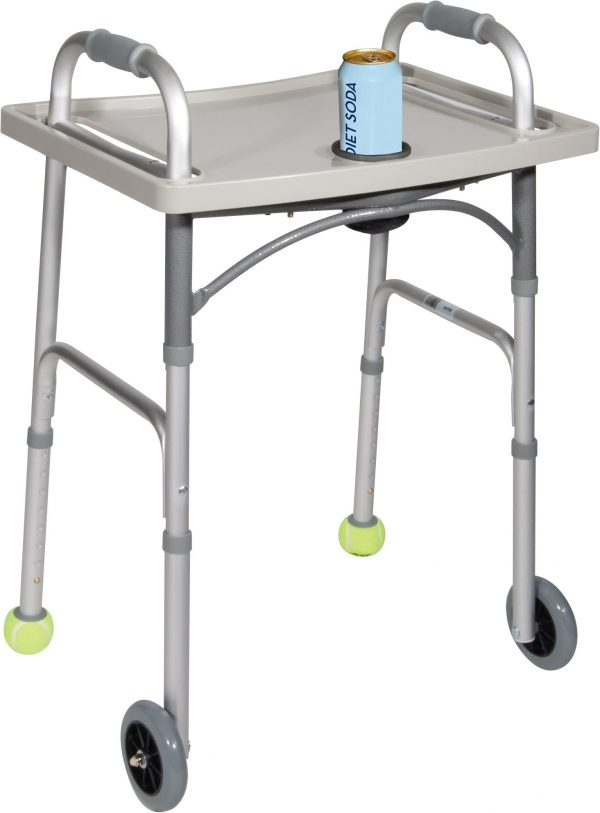 Universal Walker Tray with Cup Holder-0