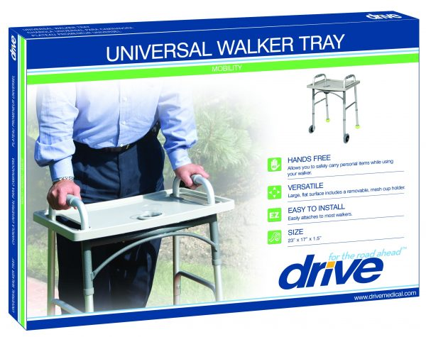 Universal Walker Tray with Cup Holder-3990