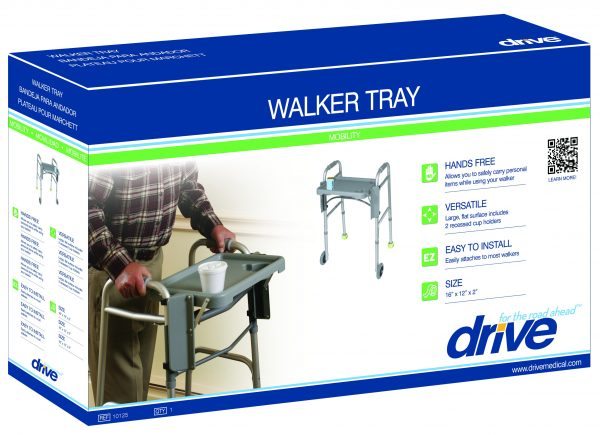 Walker Tray with Cup Holders-3977