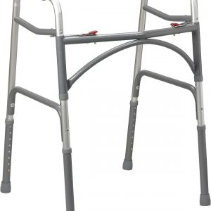 Bariatric Aluminum Folding Walker, Two Button-0