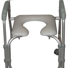 Aluminum Shower Chair and Commode-3937