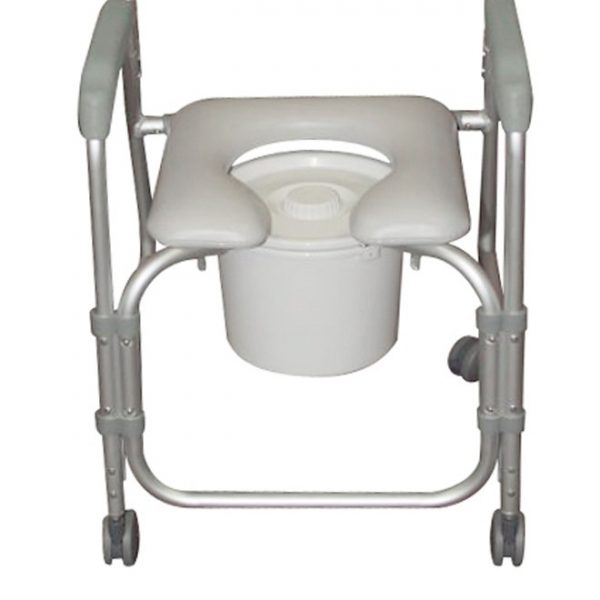 Aluminum Shower Chair and Commode-3934