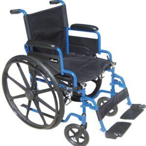 """Blue Streak Wheelchair 20""""-0"""