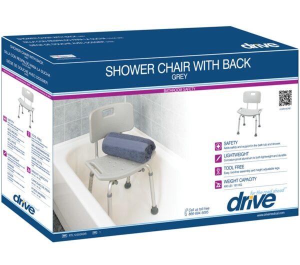 Deluxe Aluminum Bath Chair-4092