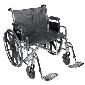 "Bariatric Sentra EC Heavy-Duty Wheelchair 24""-0"