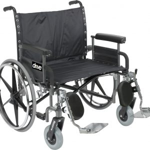 "Bariatric Deluxe Sentra Heavy-Duty, Extra-Extra-Wide Wheelchair 28""-0"