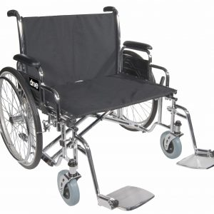 "Bariatric Sentra EC Heavy-Duty, Extra-Extra-Wide Wheelchair 26""-0"