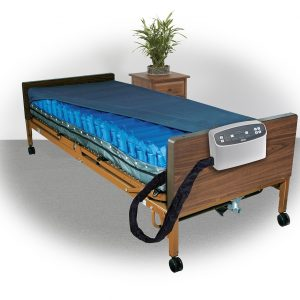 "Med-Aire Plus 8"" Alternating Pressure and Low Air Loss Mattress System-0"