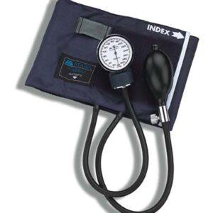 CALIBER™ Adjustable Aneroid Sphygmomanometers with Blue Nylon Cuff, Adult-0