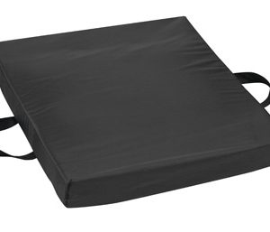 """Gel/Foam Flotation Cushion, 16"""" x 20"""" x 2"""", Nylon, Black-0"""