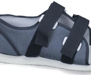 Blue Mesh Post-Op Shoe, Women's, Medium-0