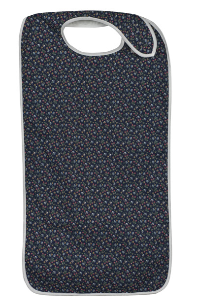 Mealtime Protector, Fancy Navy-0