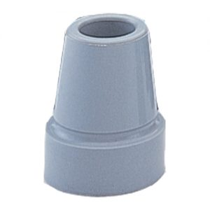 """RUBBER TIP FOR 3/4"""" CANE SHAFT-GRY-0"""