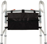 BLACK NYLON HANGING WALKER BAG-0