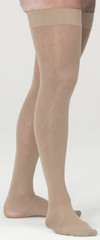 assure by medi 30–40 mmHg Thigh Petite w/Beaded Silicone Top Band •-0