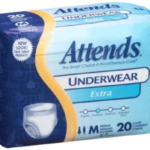 Adult Absorbent Underwear Attends® Pull On Medium Disposable Moderate Absorbency-0