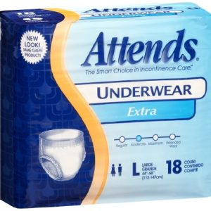 Adult Absorbent Underwear Attends® Pull On Large Disposable Moderate Absorbency-0