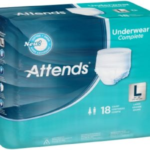 Adult Absorbent Underwear Attends® Pull On Large Disposable Heavy Absorbency-0
