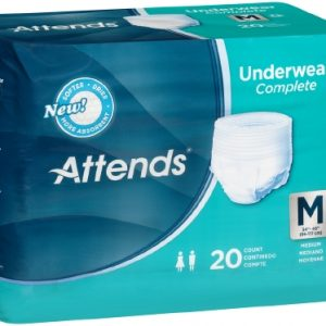 Adult Absorbent Underwear Attends® Pull On Medium Disposable Heavy Absorbency-0