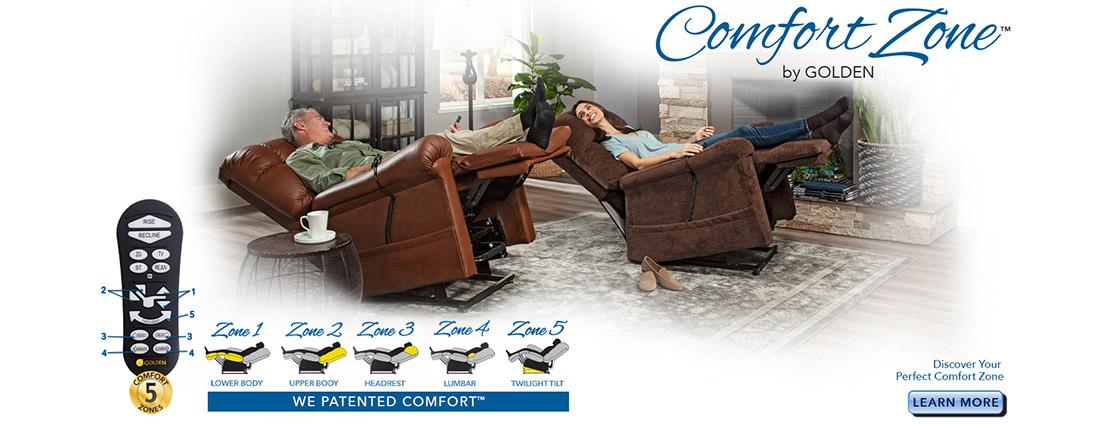 Comfort Zone Power Lift Chairs