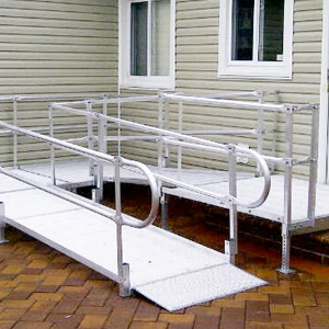 Custom-built Wheelchair Ramps & Handrails